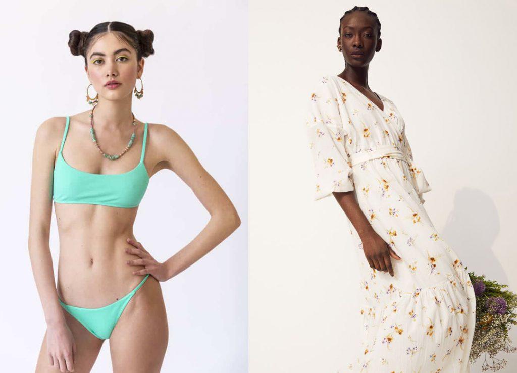 Bikini Mermazing e abito fiori H&M